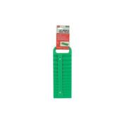 Lisle LIS101930.8cm Drive Green Magnetic Socket Holder for 26 Sockets
