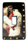 IWDSC 0179-38075 4.5 Resin Elvis Lightswitch Cover