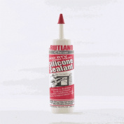 Rutland 76C 500 Degree Rtv Clear Silicone Sealant - 10.3 Ounce Cartridge
