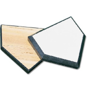 Sport Supply Group BBHPSAFE MacGregor Wood-Filled Home Plate