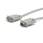 Startech VGA Monitor Extension Cable 6ft 1 x D-Sub HD-15 1 x D-Sub HD-15 Extension Cable Gray MXT101