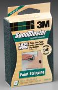3m 36 Grit SandBlaster Paint Stripping Sanding Sponge Block 20909-36