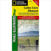 National Geographic Maps TI00000316 Cades Cove - Elkmont Great Smoky Mountains National Park Map