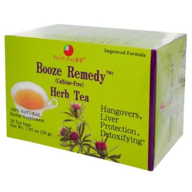 Health King Medicinal Teas 0281709 Booze Remedy Herb Tea - 20 Tea Bags