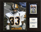 C & I Collectables 1215DORSETTC NCAA Football Tony Dorsett Pittsburgh Panthers Player Plaque