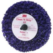3M MMM7470 10.2cm . Scotch-Brite Roloc with Clean and Strip XT Disc