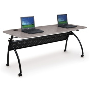 Balt 90103 Chi Flipper Table Flip-Back Top with 2 in. Casters Gray Nebula Top