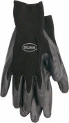 Boss Gloves Large Black Nitrile Palm Gloves 8436L