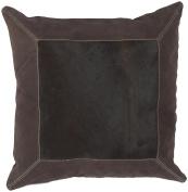 Surya PMH121-1818P 18 in. x 18 in. Poly-Fiber Decorative Pillow - Espresso