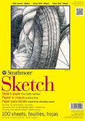 Strathmore Sketch Paper Pad 36cm x 43cm -23kg 100 Sheets