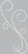 Kaisercraft PL511 Self-Adhesive Pearl Flourishes-Classic-Natural Pearl