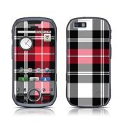 DecalGirl MAI1-PLAID-RED Motorola i1 Skin - Red Plaid