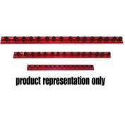 Vim Products VIMMR16R25A 40.6cm . Red Magrail Tl Magnetic Socket Holder