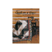 Quilt In A Day QD-1042 Quilt In A Day-Make A Quilt In A Day Log Cabin Pat
