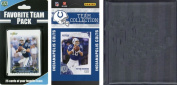 C & I Collectables 2010COLTSTSC NFL Indianapolis Colts Licenced 2010 Score Team Set and Favourite Player Trading Card Pack Plus Storage Album