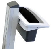 Ergotron Neo-Flex Basket and Handle Kit - Mounting kit ( handle, basket ) - two-tone grey - cart mountable - for P/N
