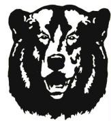 Western Recreation Ind 9325 Vista Bear Decal 6X6
