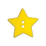 Blumenthal Lansing 93600 Slimline Buttons Series Funtastics -Yellow Star 2-Hole 1-.33cm . 2-Card