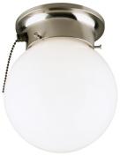 Westinghouse Lighting 6720800 Brushed Nickel Ceiling Light Fixture