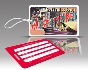 Insight Design 770717 TagCrazy Luggage Tags- Mississippi- Set of Three