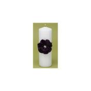Hortense B Hewitt 11236 Floral Fantasy Eggplant Unity Candle