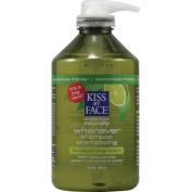 Kiss My Face 0143396 Whenever Shampoo Green Tea and Lime - 32 fl oz