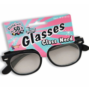 Forum Novelties Inc 33791 Class Nerd Glasses with Clear Lenses