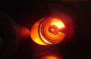 X5 Lightning 3157-CR X5 Lightning 3157 3057 Red Silver Chrome bulbs