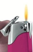 Visol VLR301101 Indira Hot Pink Traditional Flame Cigarette Lighter