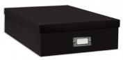 Alvin POB12BLK 12x12 Storage Box Black