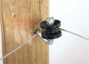 Dare Products Corner Post Insulator Black - 451