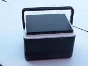 Stenten Golf Cart Accessories CO012H Legend 12 Cooler. Hinged Lid-Blk