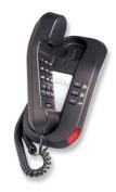 Scitec Inc. Corded Telephone TLM-691591 TeleMatrix 2L Trimline Black