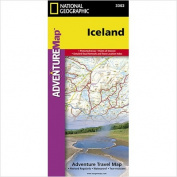 National Geographic Maps AD00003302 Iceland Adventure Map