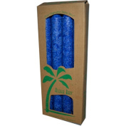 Aloha Bay 0249151 Palm Tapers Royal Blue - 4 Candles