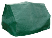 Bosmere G365 Ride On Mower Cover - 40 x 44 x 65 Inch - Dark Green Polyethylene