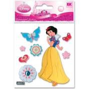 Jolees 376722 Disney Dimensional Princess Stickers-Snow White With Butterflies