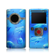 DecalGirl FLHD-SDOLPHINS Flip Ultra HD Skin - Swimming Dolphins