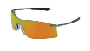 Crews 135-T411G Rubicon Metal Temple Safety Glasses Emerald Lens