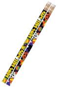 Musgrave Pencil Co Inc MUS2487D Halloween Fever 1Dz Pencils