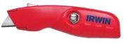 Irwin 586-2088600 Self Retracting Safety Knife W- Ergo No Slip Hdl
