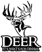Western Recreation Ind 4664 Deer Whats For Dinner Decal