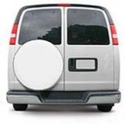 Classic Accessories Classic Custom Fit Spare Tyre Cover - Snow White MDL 4