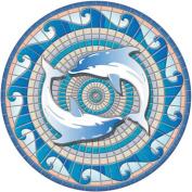 Swimming Dolphins Poolsaic 70cm 67B00-00050
