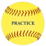 Practise Softballs - Slow Pitch/Fast Pitch, 1 Dozen