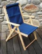 Blue Ridge Chair Works DFCH05WN Highlands Deck Chair - Navy