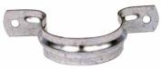 Wm Harvey Co 5.1cm . 18 Gauge 2 Hole Galvanised Pipe Straps 014536