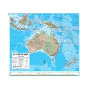 Universal Map 762546980 Australia Advanced Physical Deskpad Map Set