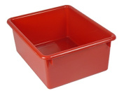 Romanoff Products ROM16102 5In Stowaway Letter Box Red No Lid 13 X 10-.50 X 5
