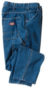 Dickies 100cm . x 80cm . Indigo Blue Relaxed Fit Utility Jeans 1993SNB 38x30